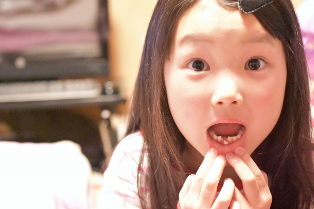 歯が生える